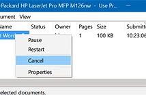 Cách xử lý lỗi in ấn trên Windows 10