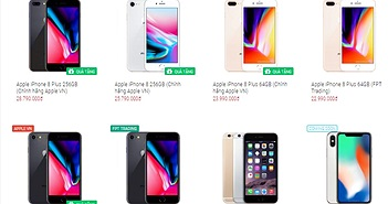Tại sao Việt Nam có tới hai loại iPhone 8/8 Plus chính hãng giá chênh nhau cả triệu đồng?