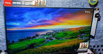 TCL trình làng thế hệ TV thông minh P6 đạt chất lượng hình ảnh 4K UHD