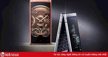 Điện thoại vỏ sò cao cấp Samsung W2019 trình làng, giá 63,6 triệu đồng