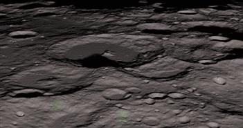 Khám phá mới cực bất ngờ về các mỏ đá trên mặt trăng