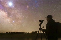 Kỳ thú ảnh người, sao Mộc, Milky Way hòa hợp trong một cảnh