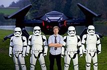 Fan cuồng Star Wars chế tạo máy bay chiến đấu từ bom tấn The Last Jedi