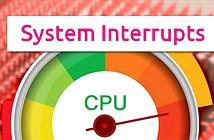 Tiến trình System Interrupts là gì? Tại sao nó lại có mặt trên máy tính Windows?