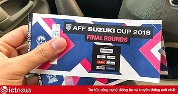 Cách mua vé online chung kết AFF Cup 2018 cực nhanh bằng VNPay QR
