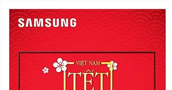 """Chương trình ưu đãi đặc biệt """"Thấy Tết lớn, mừng Tết lớn"""" khi mua các sản phẩm SmartTV của Samsung"""