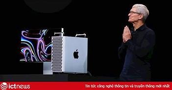 Apple chính thức mở bán Mac Pro, giá từ 120 triệu, bản full hơn 1 tỷ đồng