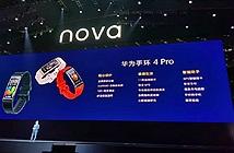 Huawei Band 4 Pro ra mắt với nhiều tính năng thể thao nổi bật