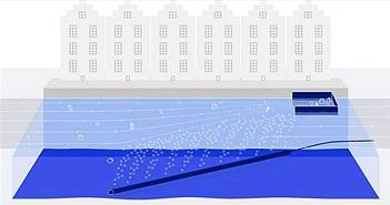 """""""Bẫy"""" bong bóng khí hứa hẹn sẽ giải quyết vấn nạn rác thải nhựa ngoài đại dương"""