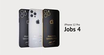 """iPhone 12 Pro """"độ"""" iPhone 4, gắn mảnh áo của Steve Jobs, giá 10.000 USD"""