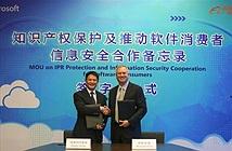 Microsoft và Alibaba cam kết chống vi phạm bản quyền ở Trung Quốc
