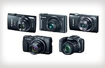 Canon giới thiệu 5 mẫu máy ảnh du lịch mới tại CES 2015