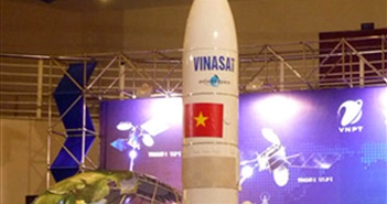 Vệ tinh VINASAT-2 đã khai thác 65% dung lượng