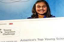 Nữ sinh 12 tuổi chế tạo máy phát hiện nước nhiễm chì