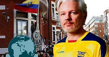 Người sáng lập WikiLeaks đã được Ecuador cấp quyền công dân, nhưng vẫn chưa thể rời London