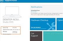3 cách kiểm tra tình trạng bảo hành của máy tính Dell