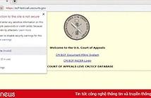 Chính phủ Mỹ đóng cửa, nhiều trang web chính phủ gặp khó