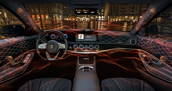 Sennheiser và Continental phát triển âm thanh không dùng loa cho xe hơi
