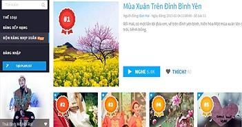 """Đón Tết Nguyên đán 2015 cùng """"Rộn ràng nhịp xuân"""" trên NhacSO.net"""