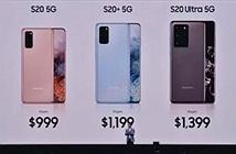 Siêu phẩm Samsung Galaxy S20, 20+ và S20 Ultra chính thức trình làng