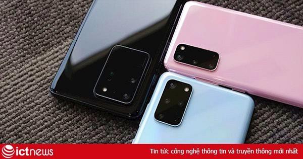 Hình ảnh và video chi tiết Samsung Galaxy S20, S20+, S20 Ultra tại Việt Nam