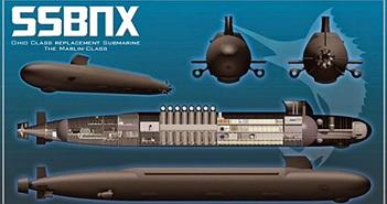 Thông tin đầu tiên về tàu ngầm hạt nhân chiến lược tương lai của Mỹ