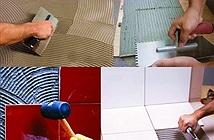 Keo dán gạch sẽ dần thay thế vữa xi măng trong xây dựng