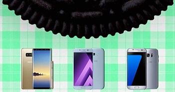 Lộ trình cập nhật Android Oreo cho smartphone Samsung Galaxy