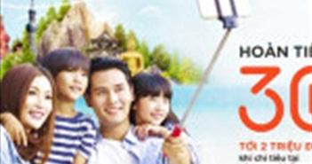 MSB hoàn tiền lên đến 30% cho chủ thẻ trong mùa du lịch