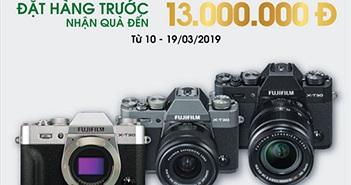 Đặt trước máy ảnh Fujifilm X-T30, nhận quà trị giá đến 13 triệu