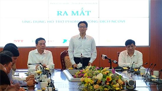 Phó Thủ tướng kêu gọi toàn dân khai báo y tế trên ứng dụng NCOVI