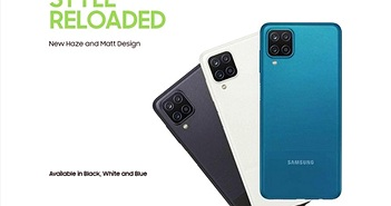 Samsung Galaxy M12 ra mắt: màn hình 90Hz, Exynos 850, pin 6.000mAh, giá từ 151 USD