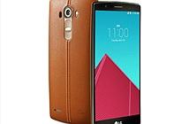 LG G4 lộ hình ảnh chính thức: mặt lưng da nhiều màu, màn hình hơi cong
