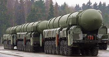 Nga thử tên lửa đạn đạo liên lục địa giữa lúc Ukraine căng thẳng
