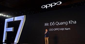 OPPO F7 ra mắt tại Việt Nam: Màn hình tai thỏ, camera selfie AI cảm biến HDR, giá từ 7,99 triệu đồng