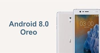Nokia 3 nhận bản cập nhật Android Oreo