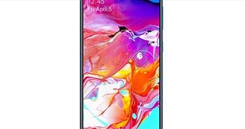 """Samsung""""trình làng"""" Galaxy A70: Màn hình lớn, camera selfie chất"""