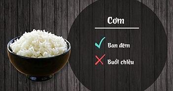 12 loại thực phẩm sẽ gây hại nếu ăn sai giờ