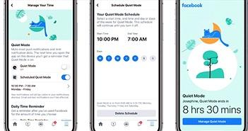 Facebook ra mắt tính năng Quiet Mode, tắt âm thông báo