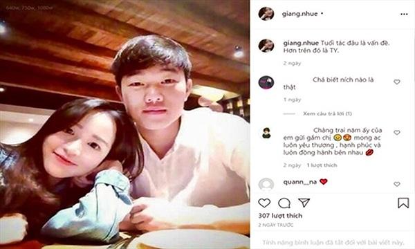 Xuất hiện tài khoản giả mạo vợ sắp cưới của Xuân Trường