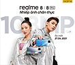 Realme 8 và 8 Pro ra mắt ngày 27/4, AMEE và Isaac làm đại sứ thương hiệu