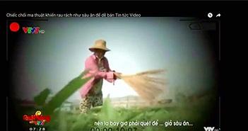 """VTV xóa nội dung """"Cây chổi quét rau"""" trên ứng dụng VTVgo và vtv.vn"""