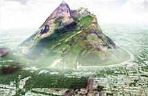 Xây dựng hẳn một ngọn núi vì thiếu mưa