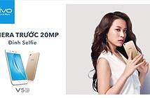 Smartphone Vivo V5s chính thức trình làng, giá bán 6.990.000 vnđ.