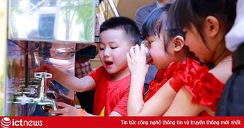 Samsung tặng hệ thống lọc nước cho 10 trường mầm non tại Bắc Ninh, Thái Nguyên