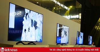 Sony tung loạt TV 4K HDR mới tại thị trường Việt Nam