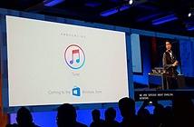 iTunes sẽ có mặt trên Windows Store
