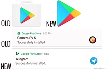Google Play Store đổi biểu tượng mới