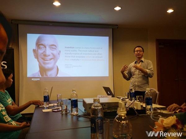 AWS miễn phí gói Builder trị giá 1.000 USD cho các startup Việt