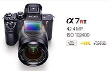 Sony ra mắt α7R II - máy ảnh mirrorless số 1 thế giới